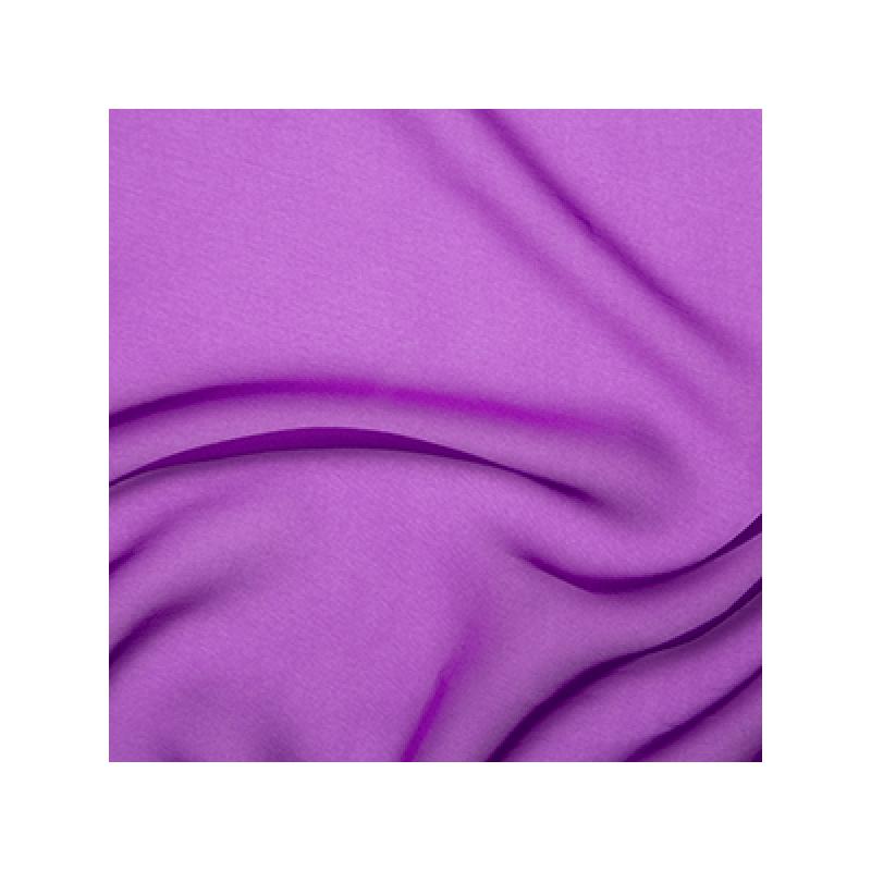 Cationic Chiffon Two Tone Fabric Bright Purple