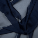 Cationic Chiffon Two Tone Fabric Navy