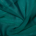 Cationic Chiffon Two Tone Fabric Jade