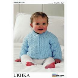 Baby Rope Twist Cable Cardigan Hat and Blanket Knitting Pattern UKHKA121