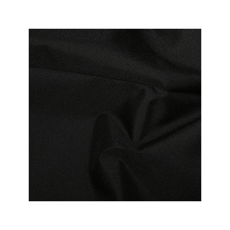 Black Soft Draping Canvas Fabric Water Resistant