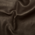 Brown Plain Soft PVC Leathercloth Faux Leather Polyester Fabric 142cm Wide
