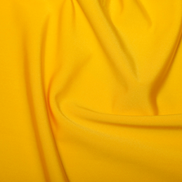 Yellow Plain All Way Stretch Lycra Fabric