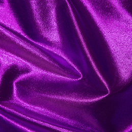 Purple Metallic Paper Lame Fabric