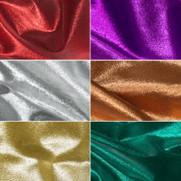 Metallic Paper Lame Fabric Nylon Costumes Dancewear Stagewear