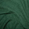 Green Plain Towelling Fabric