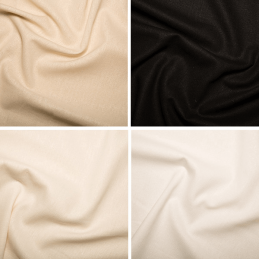 Linen Rayon Fabric Washable Ideal For Dresses, Beachwear, Home Furnishings
