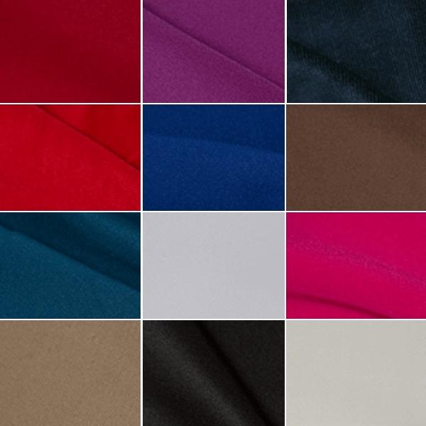 Black Scuba Fabric Stretch Jersey Knit Bodycon