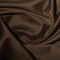 Brown Polycotton Gaberchino Twill Fabric
