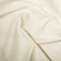 Ivory Polycotton Gaberchino Twill Fabric