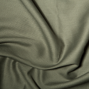 Khaki Polycotton Gaberchino Twill Fabric