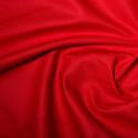 Red Polycotton Gaberchino Twill Fabric