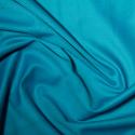 Turquoise Polycotton Gaberchino Twill Fabric