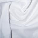 White Polycotton Gaberchino Twill Fabric