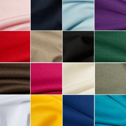 Polycotton Gaberchino Dressmaking Skirts Chinos Fabric 148cm Wide