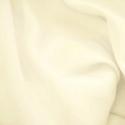 Ivory Plain Peachskin Fabric