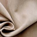 Beige Plain Peachskin Fabric
