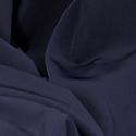 Navy Plain Peachskin Fabric