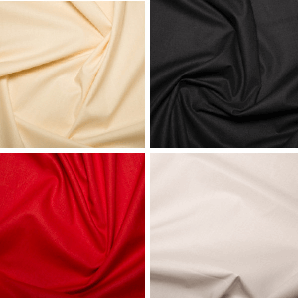Red 100% Cotton Sheeting Fabric Lining Material