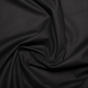 Black 100% Cotton Sheeting Fabric Lining Material