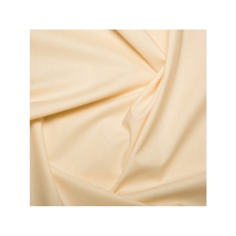 Cream 100% Cotton Sheeting Fabric Lining Material