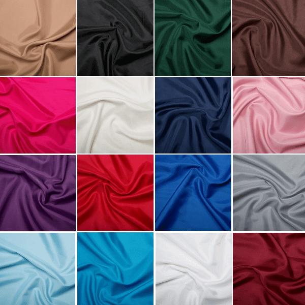 Yellow Premium Quality Anti Static Dress Lining Fabric 144cm Wide