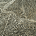 Plain Coloured Christmas Metallic Mesh Nylon Dress Net Fabric