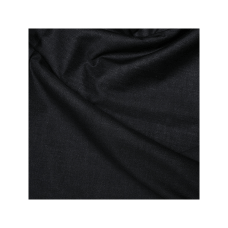 Black Interlining 100% Cotton Fusible Iron On Fabric
