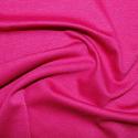 Cerise Ponte Roma Fabric Jersey Stretch