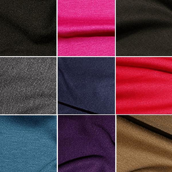 Black Ponte Roma Fabric Jersey Stretch