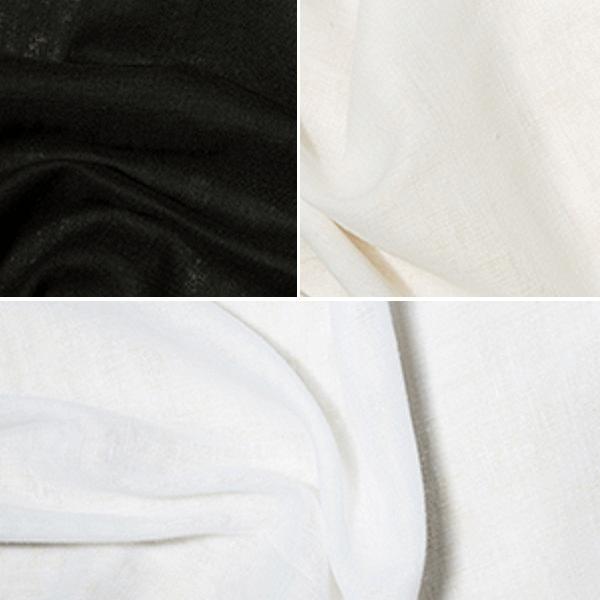 Black Fire Retardant Muslin Fabric  100% Cotton