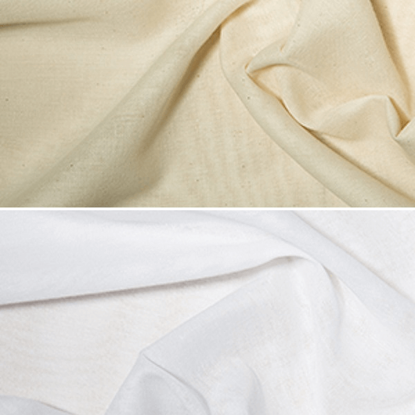 White Indian Butter Muslin Fabric