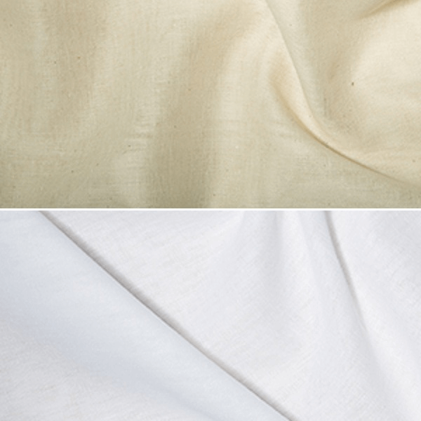 White Indian Butter Muslin 135cm Wide 100% Cotton Fabric