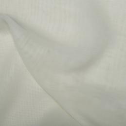 Cream Japanese Chiffon Fabric Premium