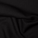 Black Plain Polyester Twill Fabric