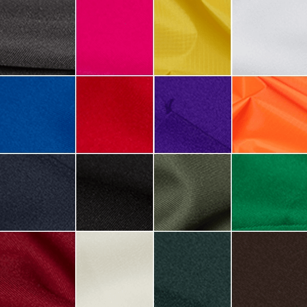 Black Plain Polyester Twill Fabric