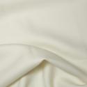 Cream Plain Polyester Twill Fabric