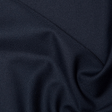 Navy Plain Polyester Twill Fabric