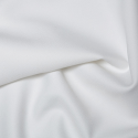White Plain Polyester Twill Fabric