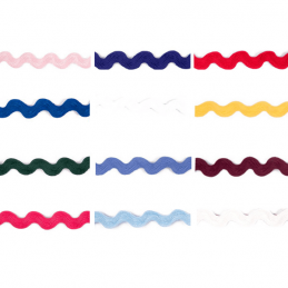 14mm Jumbo Ric Rac Braid Trim Zig Zag Ribbon