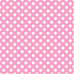 Whimsical Wheels Polka Dot Spots Grey or Pink 100% Cotton Fabric