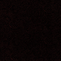 Black 100% Cotton Patchwork Fabric Nutex Ponga Koru Abstract Pattern