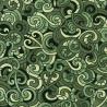 100% Cotton Patchwork Fabric Nutex Kiwiana Moko Abstract Swirls Tattoo