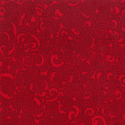 Scarlet 100% Cotton Patchwork Fabric Nutex Kiwiana Moko Abstract Swirls Tattoo