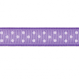 9mm x 5m Grosgrain Spots Polka Dots Ribbon Multi Colour Celebration