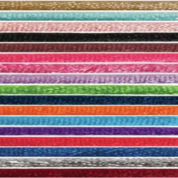 2mm x 10m Knot Cord Shiny Lace Ribbon Multi Colour Celebration