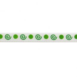 6mm x 4m Two-Tone Swirl Print Ribbon Multi Colour Celebration