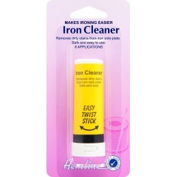 Hemline Iron Cleaner Stick Removes Starch & Burn Marks