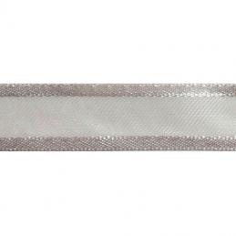 Satin Edge Nylon Organza Split 25mm x 4m Craft Ribbon Multi Colour Celebration