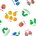 The Very Hungry Caterpillar Days Of The Week 100% Cotton Fabric (Makower)